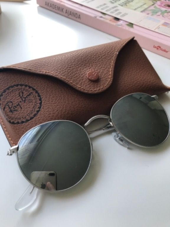 Ray Ban Sunglass Brille silver woman