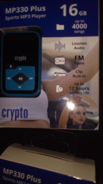 6 ΤΕΜ MP3 CRYPTO MP330 PLUS 16GB