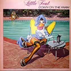 Little Feat–Down On The Farm. Βινυλίο1980 (Southern Rock)