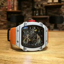 Replica Richard Mille RM27-02 Stainless Steel Black & Skelet